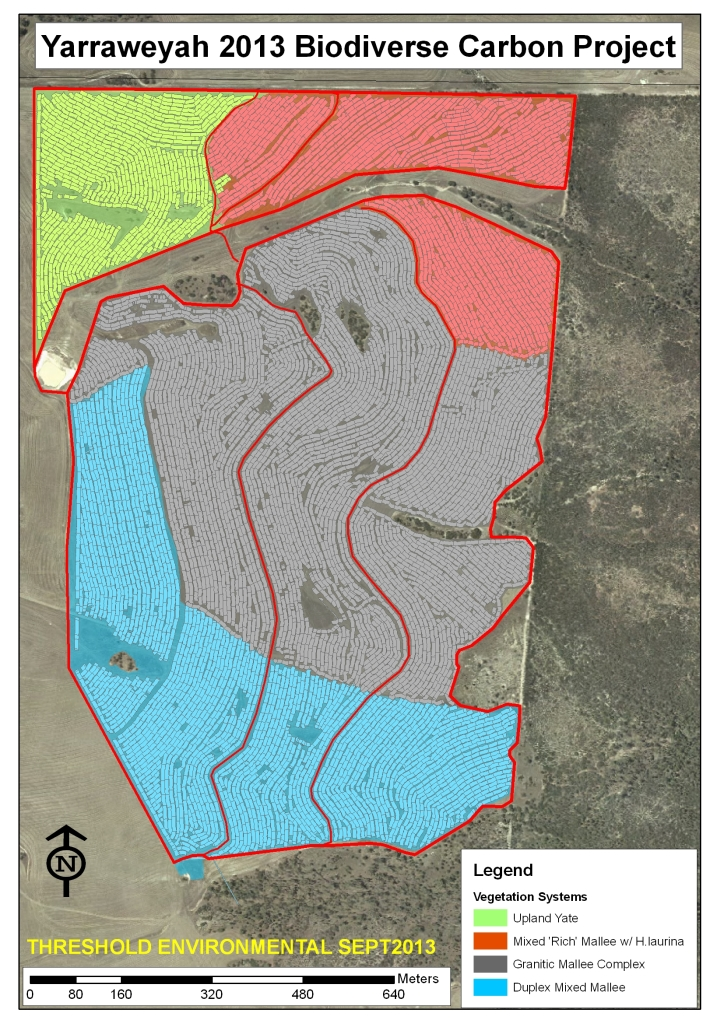 Yarraweyah Falls Restoration Map